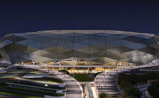 EstadioQatarFoundation 2 Foto Fenwick Iribarren Architects