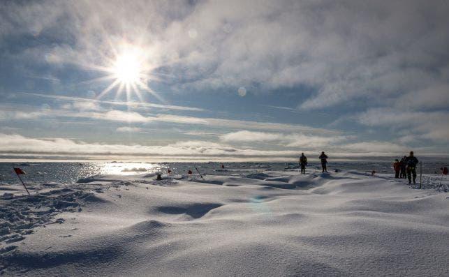 Excursion Lancaster Sound Baffin. Foto: Andrea Klaussner