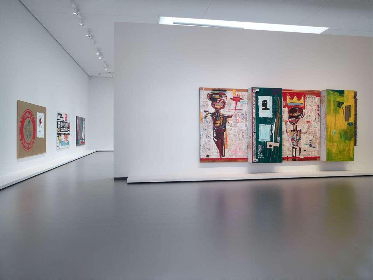 Exposición Jean Michel Basquiat. Fundación Louis Vuitton, Paris.