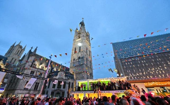 Ferias de Gante. Foto Turismo de Flandes