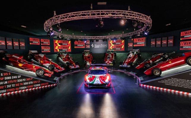 En Maranello se exponen algunas de las glorias conseguidas por Ferrari. Foto: Museo Ferrari