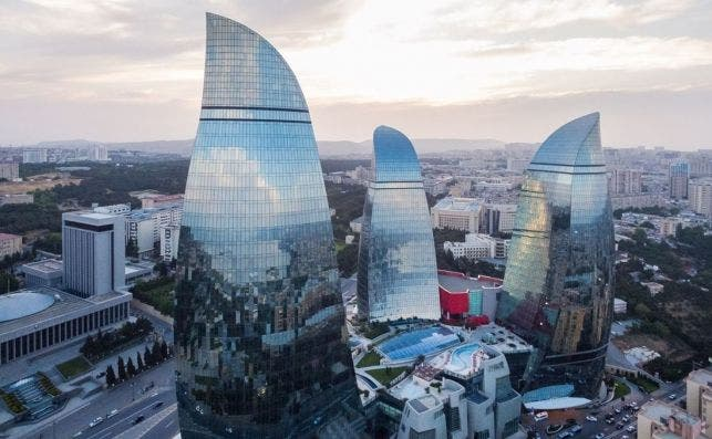 Flamer Towers, Baku.