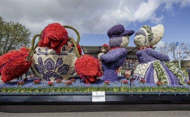 flower parade Foto Tulip festival