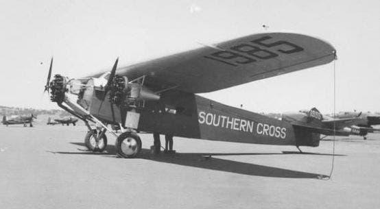 Fokker F.VII usado por charles lindberg
