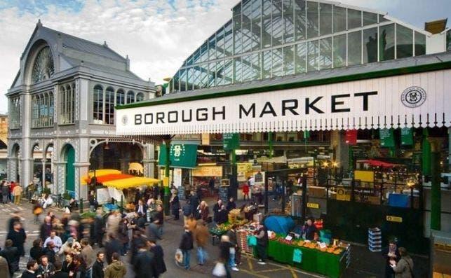Foto Borough Market.