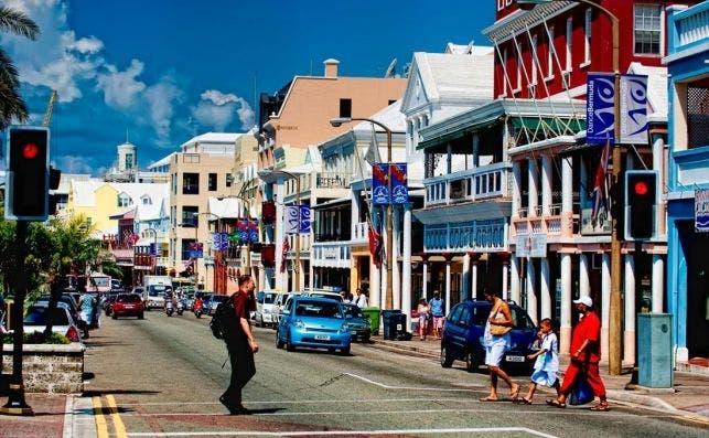 Front Street. Foto RCM Bermudas.