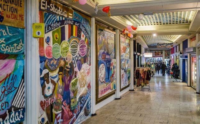 Galerias Ixelles. Foto: Turismo de Bruselas.