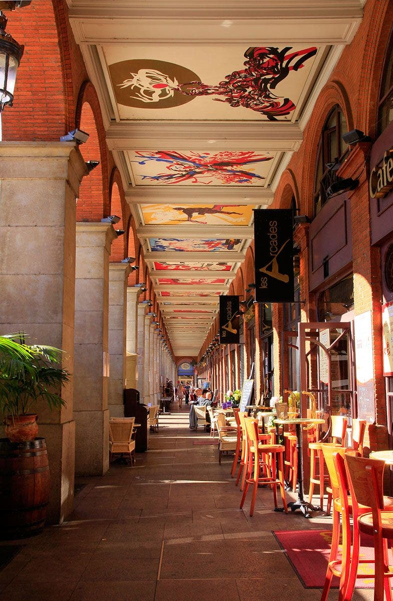 Galerue Capitole. Foto Boigontier Turismo de Toulouse.