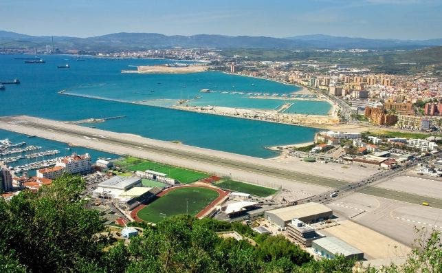 Gibraltar Airport Main Highway