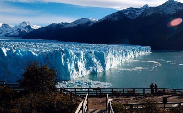 Glaciar Perito Moreno. Foto EFE.