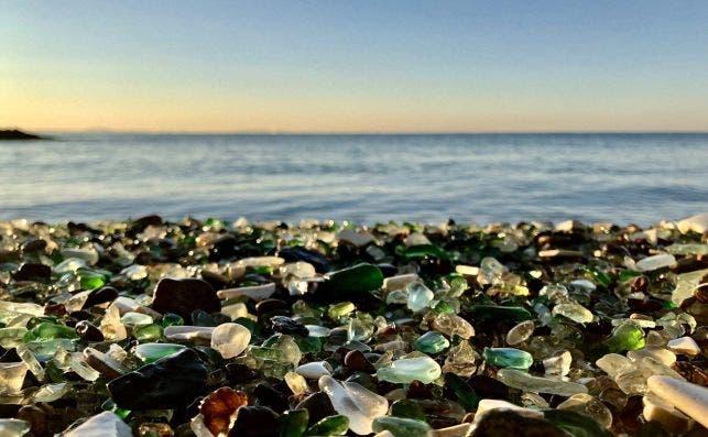 Glass Beach Foto Lisa Koksharova   Pixabay