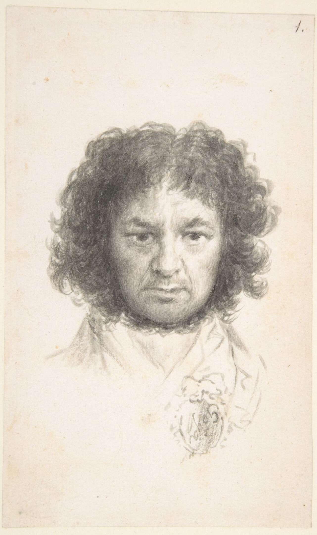 Autorretrato, Goya. Nueva York, The Metropolitan Museum of Art, Harris Brisbane Dick Fund, 1935