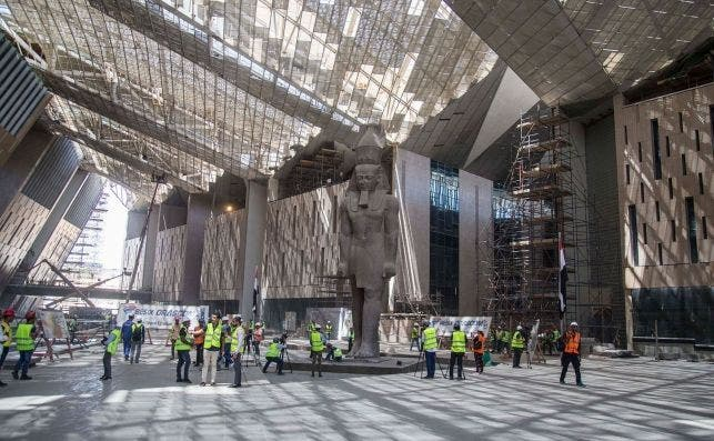 Gran Museo Egipcio. Foto: Mohamed Hossam   EFE   EPA.