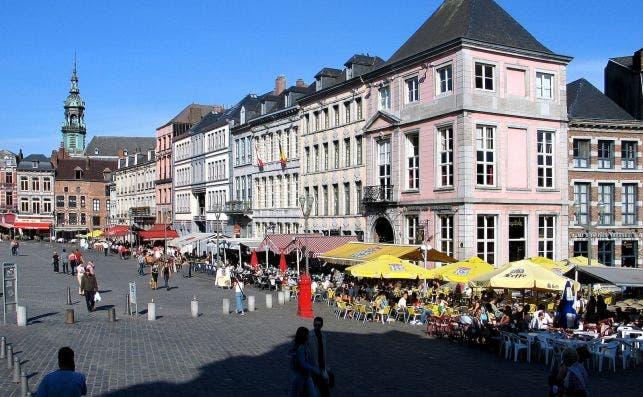 Grand Place de Mons. Foto: Joseph Jeanmart | Turismo de Valonia.