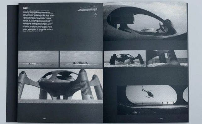 La Guarida acuática del film de James Bond 'La espía que me amó'. Foto editorial Tra