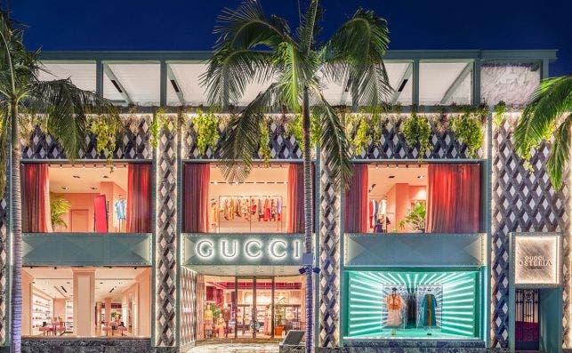 Gucci Osteria en la flagship store de la firma.Foto Pablo Enriquez Gucci
