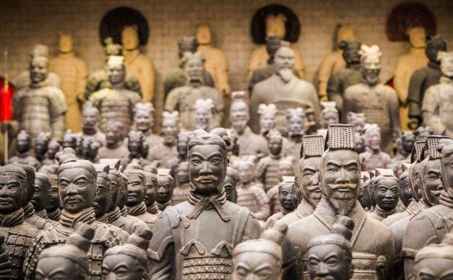 Guerreros de Xi'an. Foto Manoj Kumar Kasirajan Unsplash