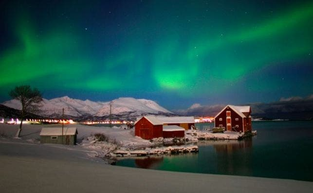 harstad Noruega Aurora Boreal