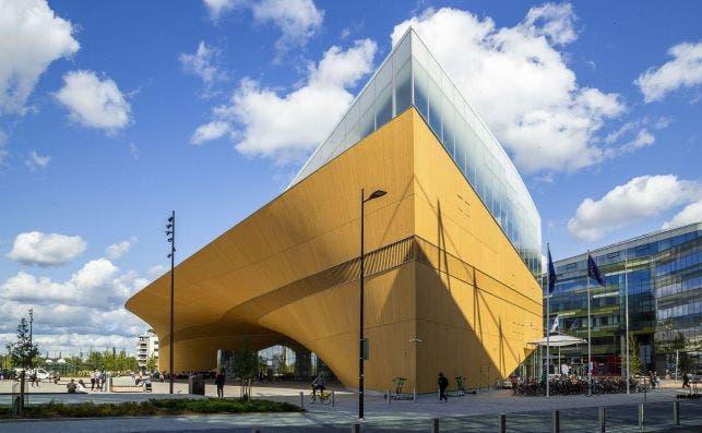 Helsinki Central Library Oodi. Foto: Maarit Hohteri