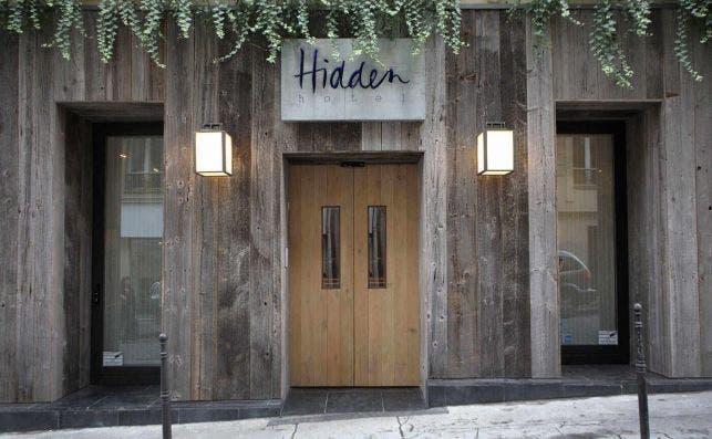 HIdden Hotel, París.