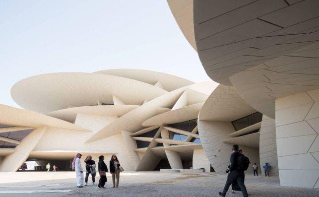 El estudio de Jean Nouvel diseñó el Museo Nacional de Qatar. Foto: Jean Nouvel.