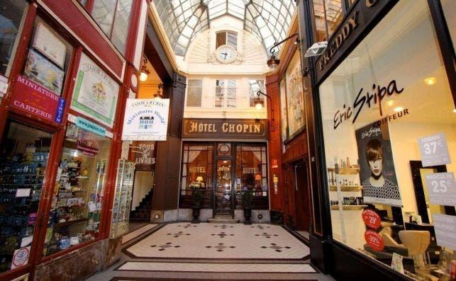 Hotel Chopin, París.