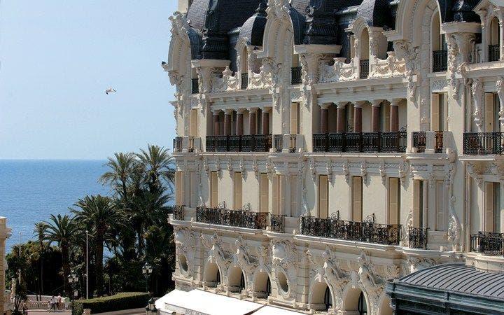 Hotel de Paris, Monte Carlo. Foto Leading Hotels of the World.
