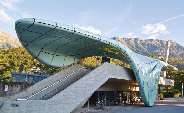 Hungerburgbahn Foto Turismo de Innsbruck