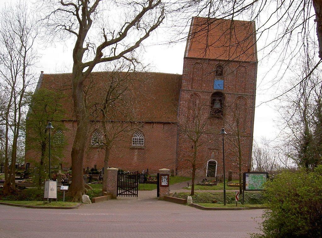 Iglesia de Suurhusen. Foto Wikimedia Commons.
