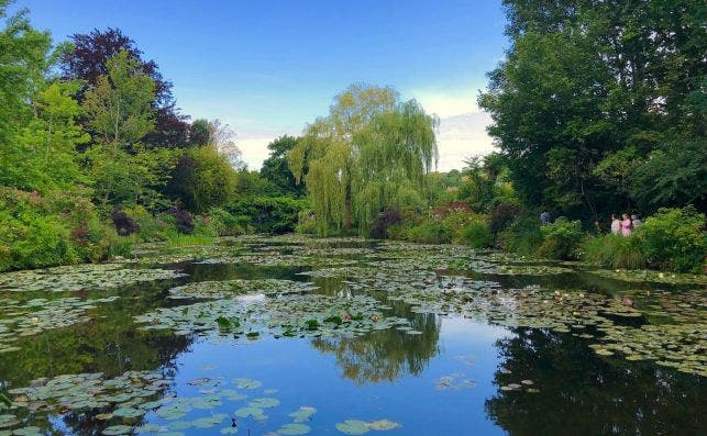 JardiÌn de Monet en Giverny. Foto Adora Goodenough Unsplash