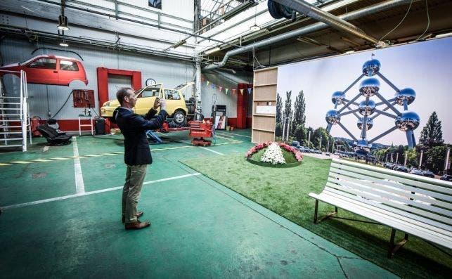 Kanal ya expone diferentes obras e instalaciones. Foto Visit Brussels.