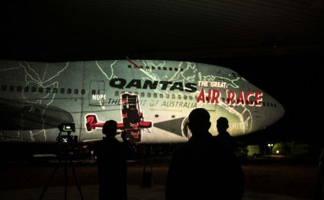 La expansioÌn de QantasAviones de guerra usados por Qantas. Foto Qantas Founders Museum