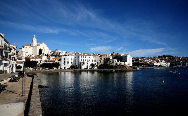 Una imagen de Cadaqués, en la Costa Brava.