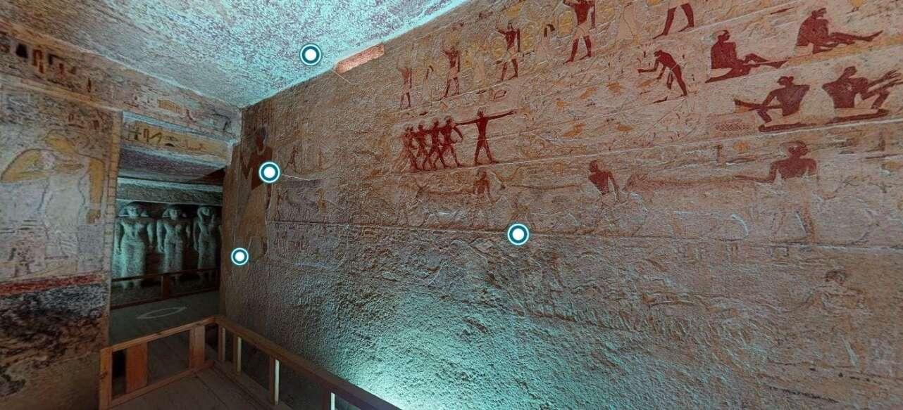 La tumba tiene 5.000 años.