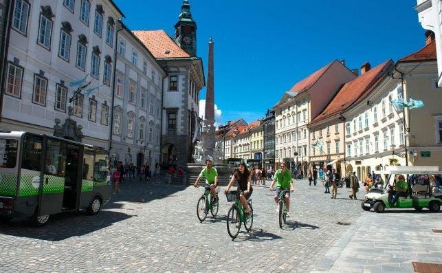 Ljubljana fue capital verde europea en 2016. Foto Turismo de Eslovenia.