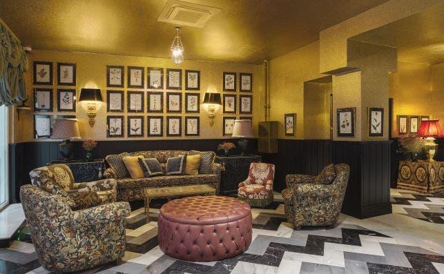 Lobby Room Mate Alba. Foto: Room Mate Hotels.