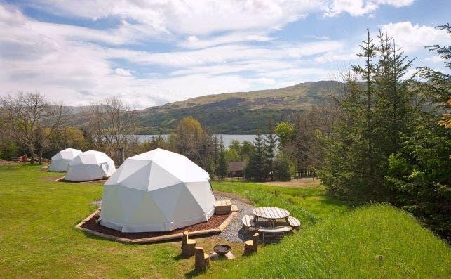 Loch Tay Highland Lodges, Escocia. Foto Pitchup.