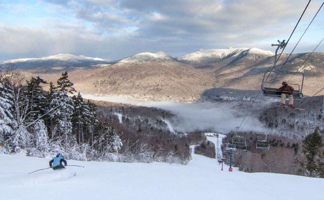 Loon Mountain. Foto Loon Mountain Resort.