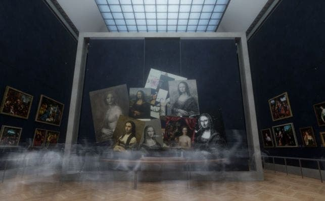 Beyond The Glass. Foto. Emissive / HTC Vive Arts.