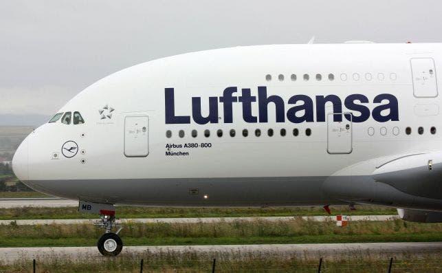 Lufthansa A380 800