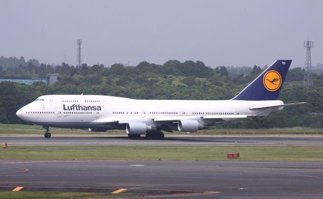 Lufthansa B747 400