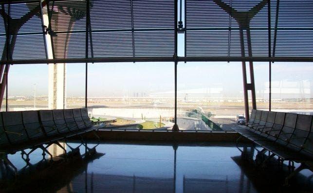 luz aeropuerto