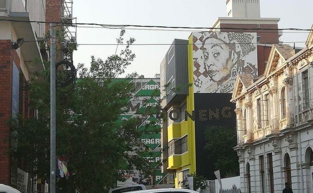 Arte urbano en Mabogeng