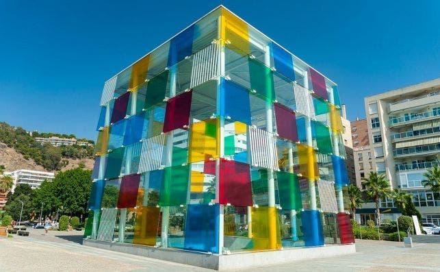 Centro Pompidou de Málaga. Fotografía: Postcardtrip