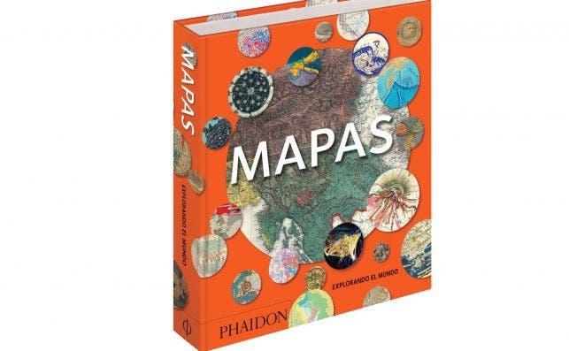 Mapas-Explorando el mundo, de Editorial Phaidon. Foto: Editorial Phaidon