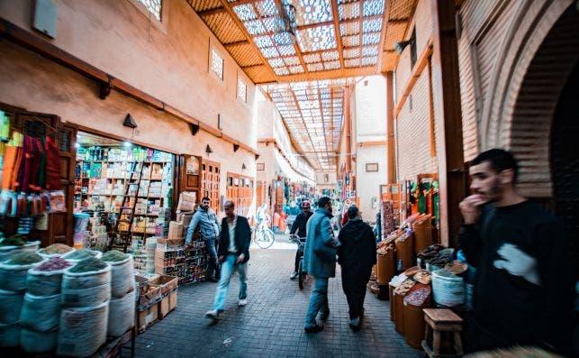 marrakech diego van sommeren  unsplash