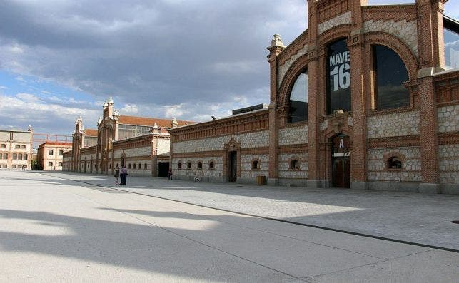 Matadero Madrid. Foto Wikimedia Commons.