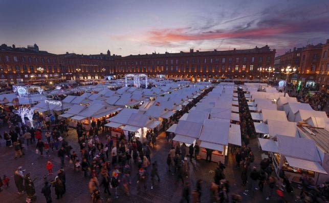 Mercadillo de Navidad. Foto: P.Nin   Turismo de Toulouse.