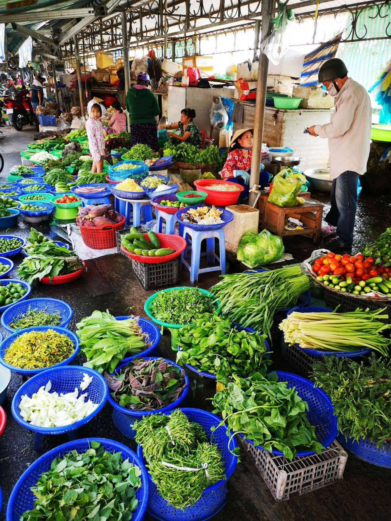 Mercado Mekong. Foto: Cristina Rodríguez Bareño.