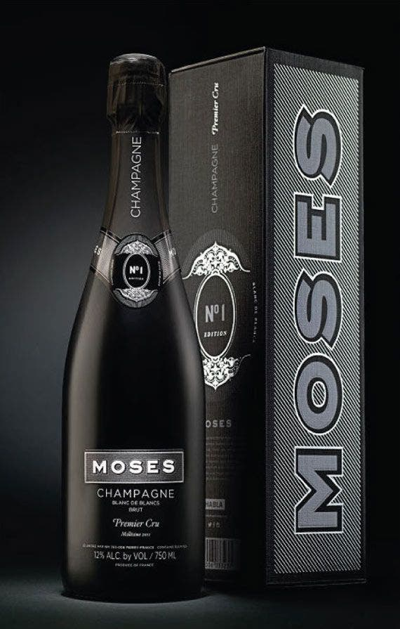 Moses es el champagne de Bodegas Habla.